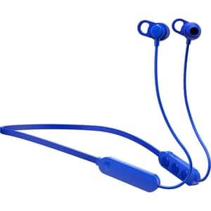 Casti SKULLCANDY Jib+, S2JPW-M101, Bluetooth, In-Ear, Microfon, albastru