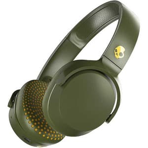 Casti SKULLCANDY Riff S5PXW-M687, Bluetooth, On-ear, Microfon, Olive Moss Yellow