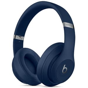 Casti BEATS Studio 3 MQCY2ZM/A, Bluetooth, Over-Ear, Microfon, Noise Cancelling, albastru