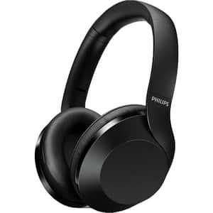 Casti PHILIPS Performance TAPH802BK/00, Bluetooth, On-Ear, Microfon, Hi-Res Audio, negru