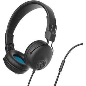 Casti JLAB Studio, Cu Fir, On-Ear, Microfon, negru