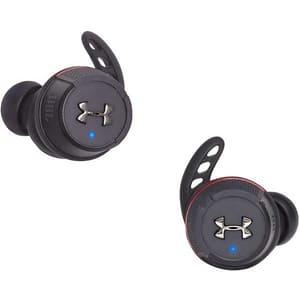 Casti JBL Under Armour Flash, True Wireless, Bluetooth, In-ear, Microfon, negru