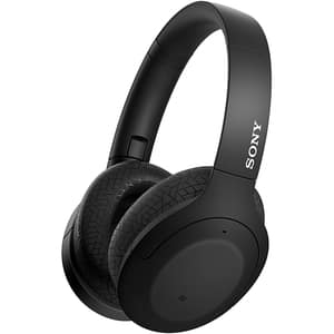 Casti SONY WH-H910NB, Bluetooth, Over-ear, Microfon, NFC, Dual Noise Sensor, Ambient Sound, Quick Attention, Hi-Res Audio, negru