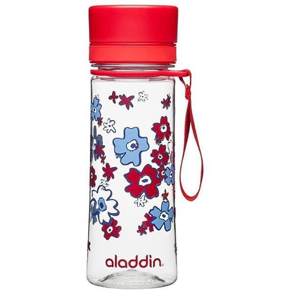 Sticla ALADDIN Aveo 1001101086, 0.35l, plastic, rosu