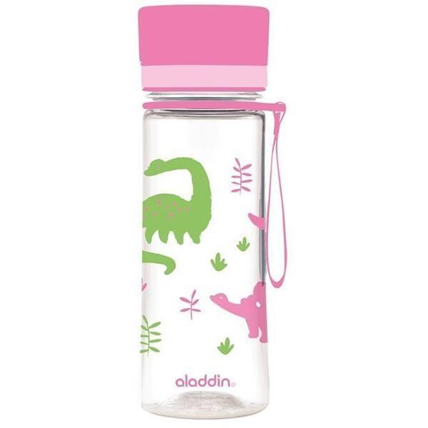 Sticla ALADDIN Aveo 1001101093, 0.35l, plastic, roz