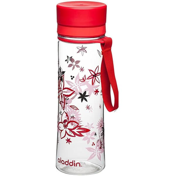 Sticla ALADDIN Aveo 1001102076, 0.6l, plastic, rosu