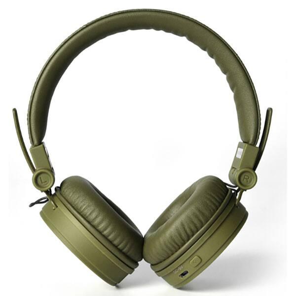 Casti FRESH 'N REBEL Caps 156302, Bluetooth, On-Ear, Microfon, verde