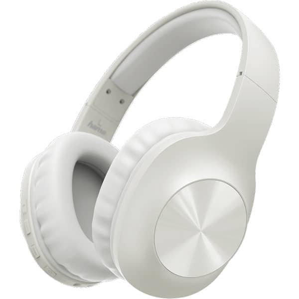 Casti HAMA Calypso, 184062, Bluetooth, Over-Ear, Microfon, alb