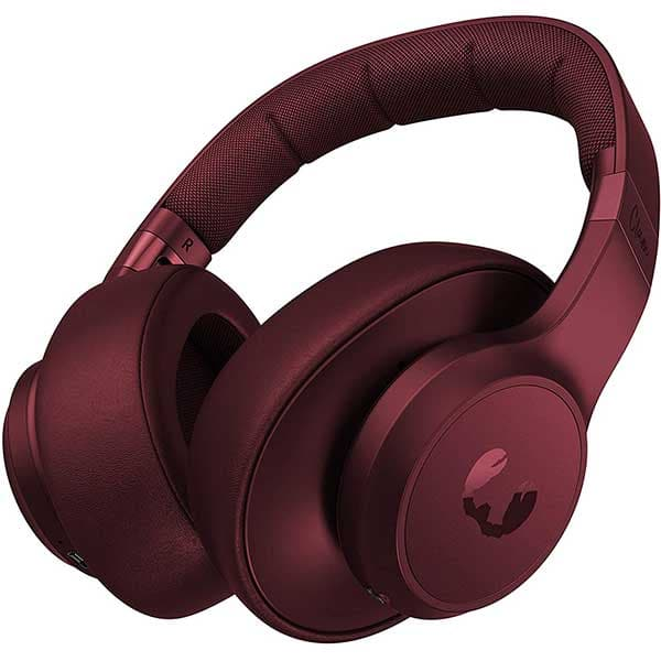 Casti FRESH 'N REBEL Clam, Bluetooth, Over-ear, Microfon, Ruby Red