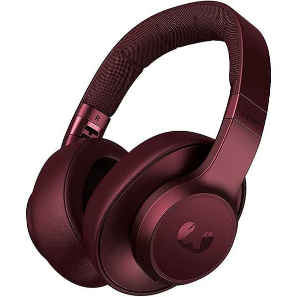 Casti FRESH 'N REBEL Clam ANC, Bluetooth, Over-ear, Microfon, Noise Cancelling, Ruby Red