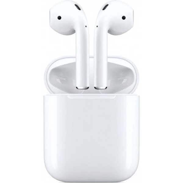 Casti APPLE AirPods 2 MV7N2ZM/A, True Wireless, Bluetooth, In-Ear, Microfon, alb