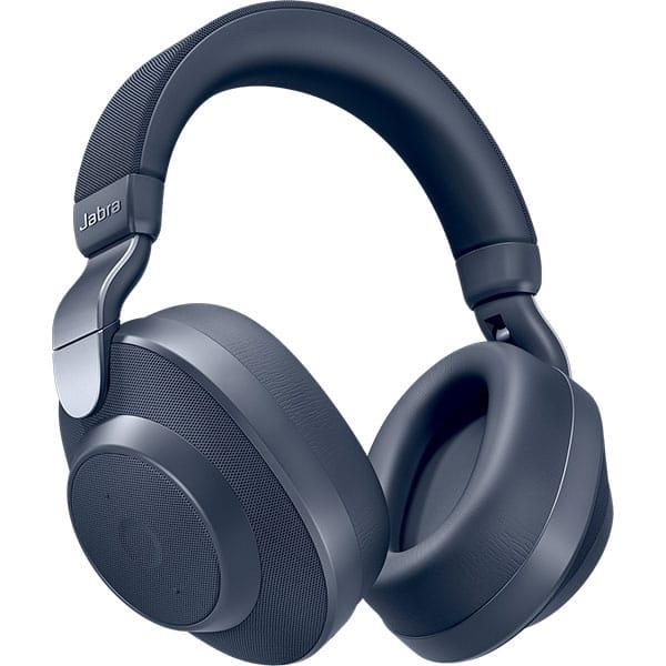 Casti JABRA Elite 85h, Bluetooth, Over-Ear, Microfon, Noise Cancelling, bleumarin