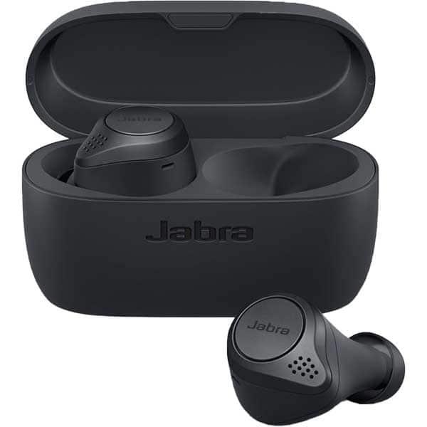 Casti JABRA Elite Active 75t, True Wireless, Bluetooth, In-ear, Microfon, Noise Cancelling, Dark Grey
