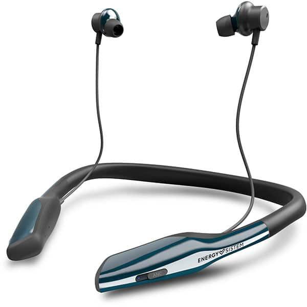 Casti ENERGY SISTEM Travel 8, ENS446056, Bluetooth, NFC, In-Ear, Microfon, Noise Cancelling, negru-albastru
