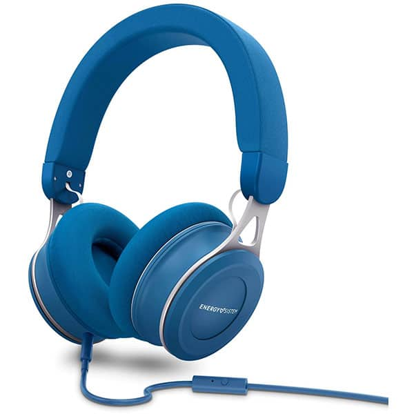 Casti ENERGY SISTEM Urban 3, ENS446896, Cu Fir, On-Ear, Microfon, albastru