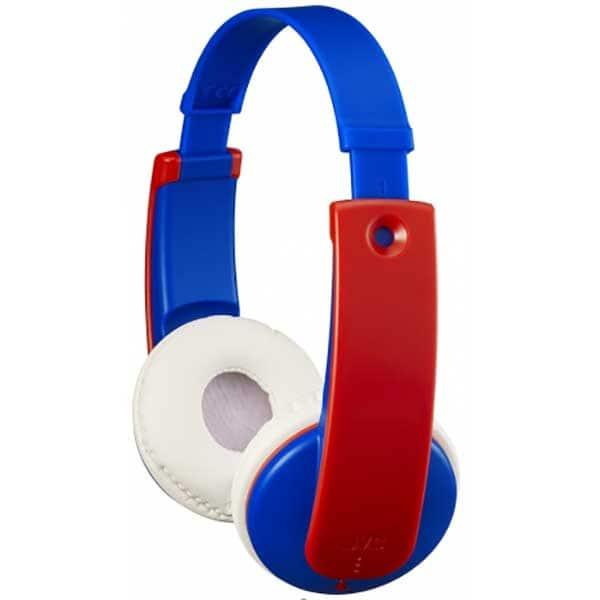 Casti pentru copii JVC Tinyphone HA-KD9BT-P-E, Bluetooth, On-Ear, albastru-roz