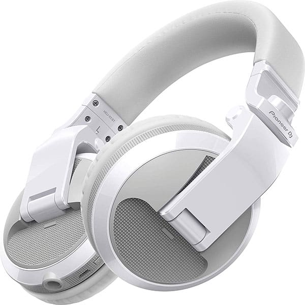 Casti PIONEER HDJ-X5BT-W, Bluetooth, Over-Ear, Microfon, alb