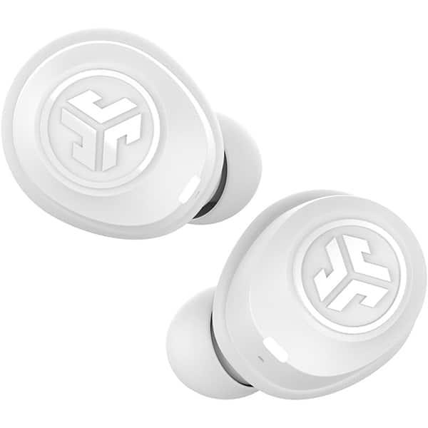 Casti JLAB Air, True Wireless, Bluetooth, In-Ear, Microfon, JLab EQ, alb