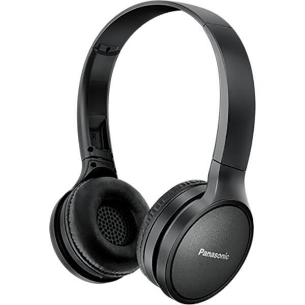 Casti PANASONIC RP-HF410BE, Bluetooth, On-Ear, Microfon, negru