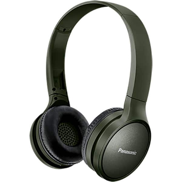 Casti PANASONIC RP-HF410BE, Bluetooth, On-Ear, Microfon, verde