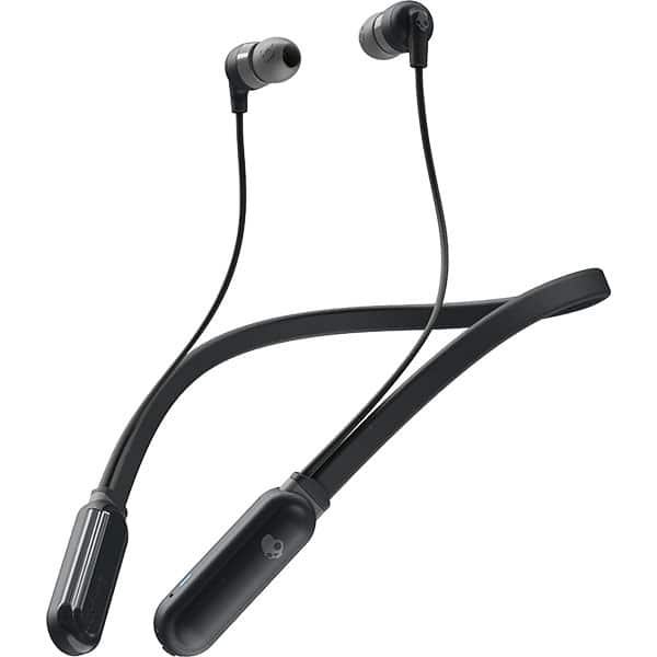 Casti SKULLCANDY Ink'd+, S2IQW-M448, Bluetooth, In-Ear, Microfon, negru-gri