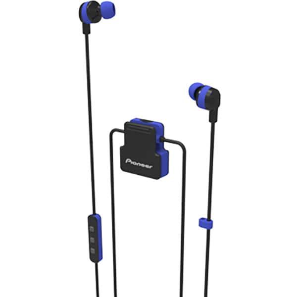 Casti PIONEER ClipWear Active SE-CL5BT-L, Bluetooth, In-Ear, Microfon, albastru