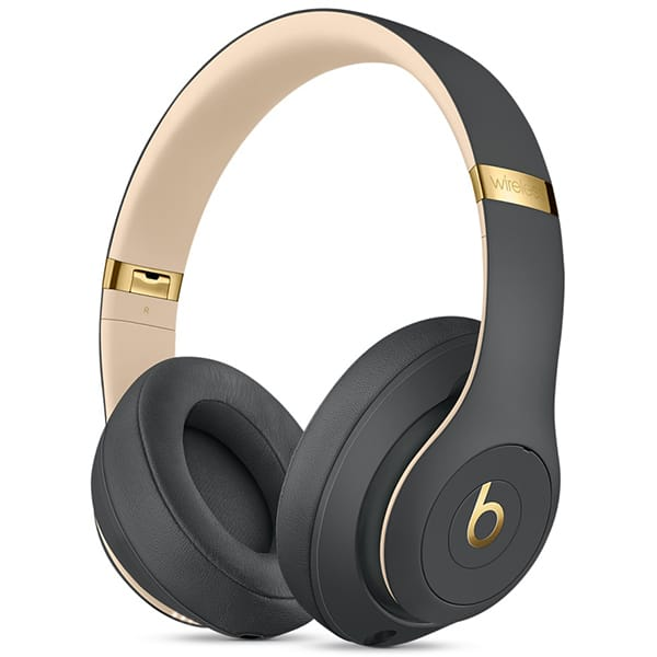Casti BEATS Studio 3 MQUF2ZM/A, Bluetooth, Over-Ear, Microfon, Noise Cancelling, gri