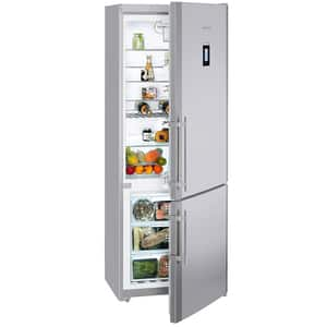Combina frigorifica LIEBHERR CNPesf 5156, Premium NoFrost, 453 l, H 202 cm, Clasa A++, inox