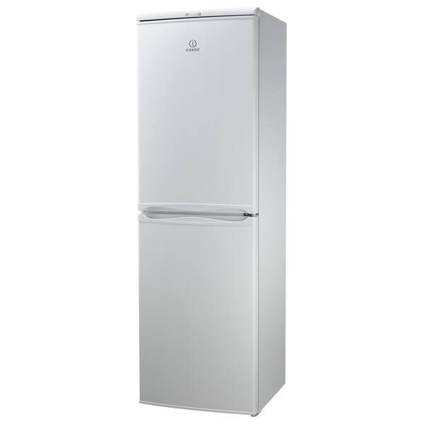 Combina frigorifica INDESIT CAA 55, Low Frost, 235 l, H 174 cm, Clasa A+, alb
