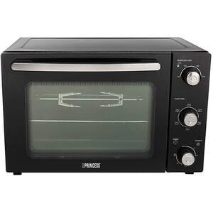 Cuptor electric PRINCESS Deluxe 111275101001, 32l, 1500W, negru-argintiu