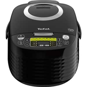 Multicooker TEFAL Spheri Cook RK745800, 5l, 820W, 16 programe, negru