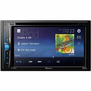 "Media receiver auto PIONEER AVH-A100DVD, 6.2"" Touch, 4 x 50W, USB"