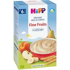 Cereale HIPP cu lapte si fructe 1307, 6 luni+, 250g