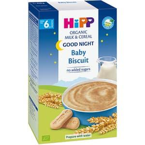 Cereale HIPP Good Night cu lapte si primul biscuite al copilului 1402, 6 luni+, 250g