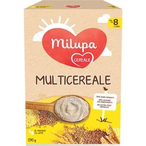 Cereale MILUPA Multicereale 624592, 8 luni+, 230g