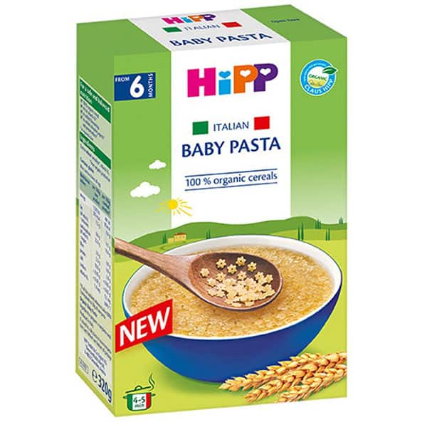Paste pentru bebelusi HIPP 1404, 6 luni+, 320g