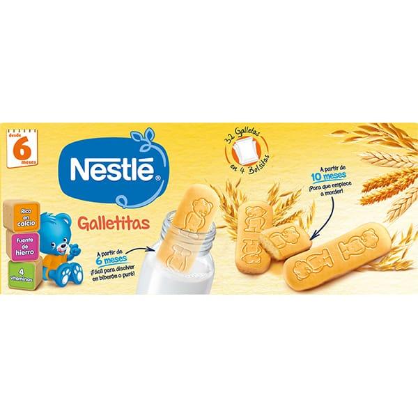 Biscuiti NESTLE Primul biscuit al sugarului 12347815, 6 luni+, 180g
