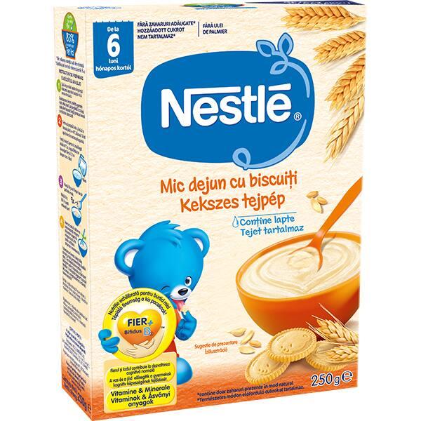 Cereale NESTLE Mic dejun cu biscuiti 12403508, 6 luni+, 250g