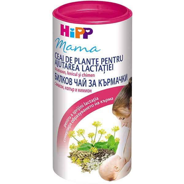 Ceai instant pentru stimularea lactatiei HIPP 1333, 200g