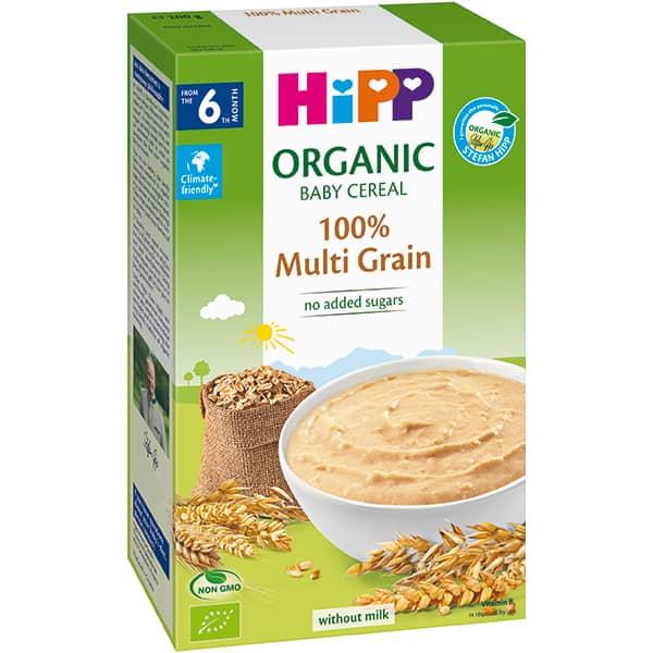 Cereale HIPP Multicereale 100% integral 1397, 6 luni+, 200g