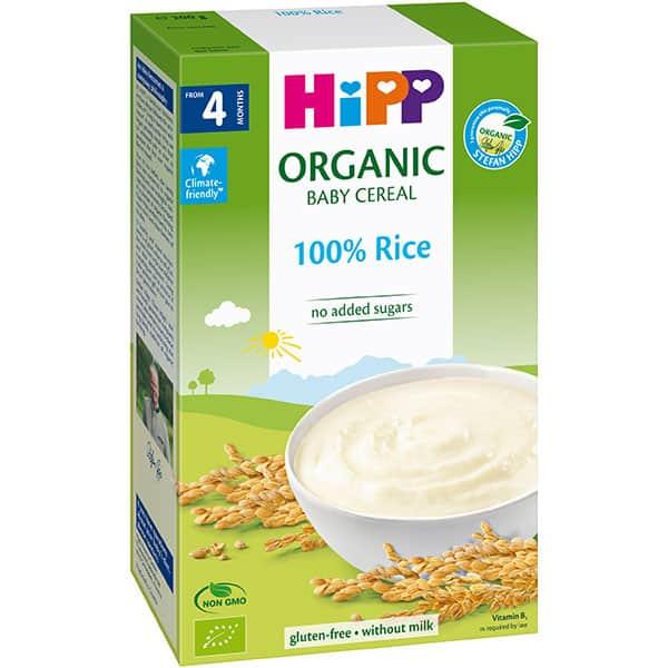Cereale HIPP cu orez 1397, 4 luni+, 200g