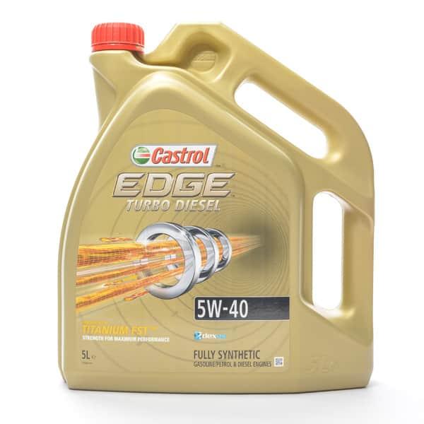 Ulei Motor CASTROL EDGE TURBO DIESEL, 5W-40, 5L
