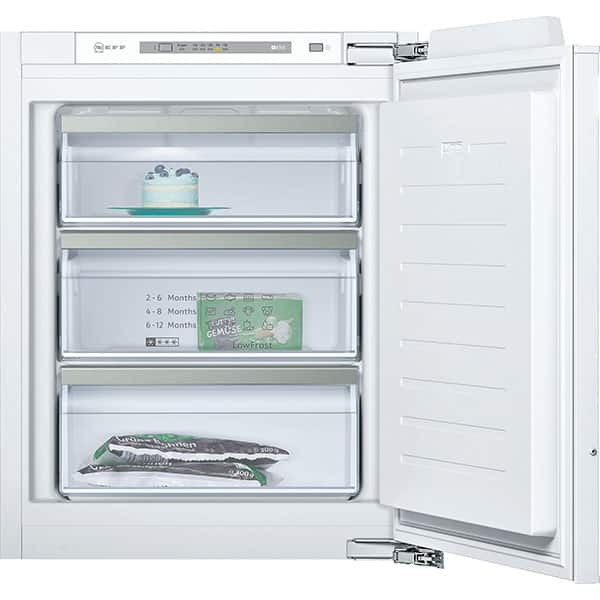 Congelator incorporabil NEFF GI1113F30, LowFrost, 72 l, H 71.2 cm, Clasa A++, alb