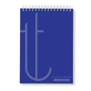 Blocnotes RTC Trendy, dictando, A4, 70 file, albastru