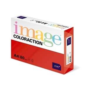 Hartie color pentru copiator COLORACTION, A4, 500 coli, rosu-Chile