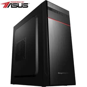Sistem Desktop MYRIA Live V58WIN Powered by Asus, Intel Core I3-9100F pana la 4.2GHz, 8GB, SSD 240GB, NVIDIA GeForce  GT 710 2GB, Windows 10 Home