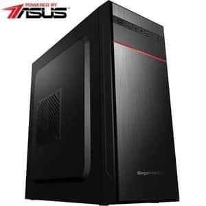 Sistem Desktop PC MYRIA Live V60WIN, Intel Core i3-10100 pana la 4.3GHz, 8GB, SSD 240GB, Intel UHD Graphics 630, Windows 10 Home