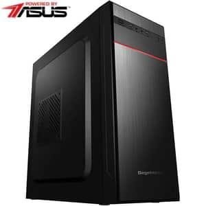 Sistem Desktop PC MYRIA Style V57WIN Powered by Asus, AMD Ryzen 3-3200G pana la 4GHz, 8GB, 1TB, AMD Radeon Vega 8 Graphics, Windows 10 Home