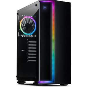 Sistem Desktop Gaming MYRIA Style V62WIN, AMD Ryzen 7 3700X pana la 4.4GHz, 32GB, SSD 480GB + HDD 1TB, AMD Radeon RX 5700 XT 8GB, Windows 10 Home
