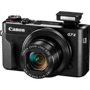 Aparat foto digital CANON PowerShot G7X MARK II, 20.9 MP, Full HD, Wi-Fi, negru